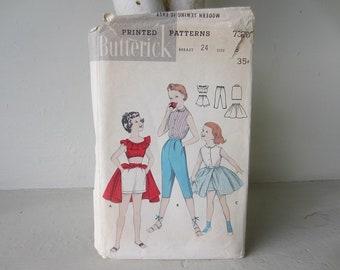 Butterick 7370 Girls' Sport Outfit Pattern