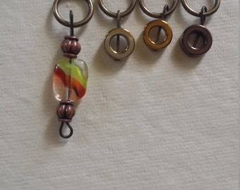 Set of 10 Stitch Markers (SM001) Sizes Included: Medium