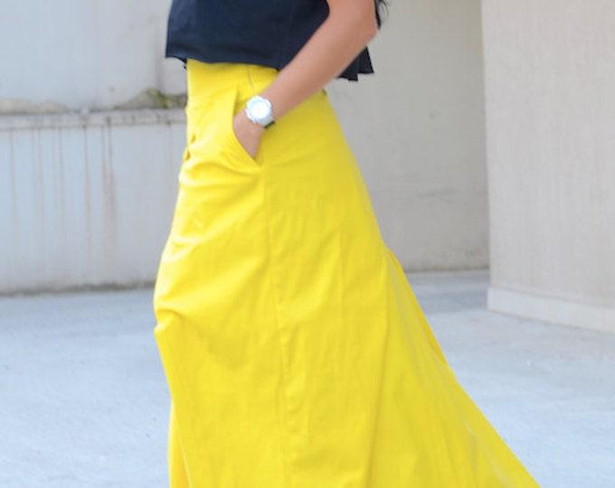 Featured listing image: maxi skirt, maxi skirt pockets, gypsy long skirt, long skirt pockets, Long Black Skirt, maxi skirts, floor length skirt, loose skirt
