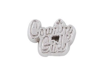 Country Girl Floating Charms
