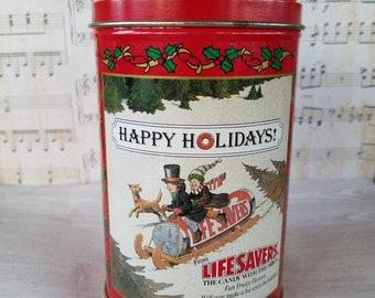 Vintage Life Savers Collectible Tin 1989