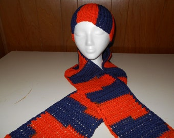 AU Scarf and Beenie Set