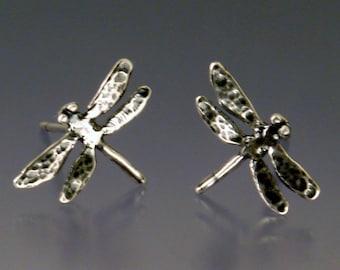 Dragonfly Post Earrings