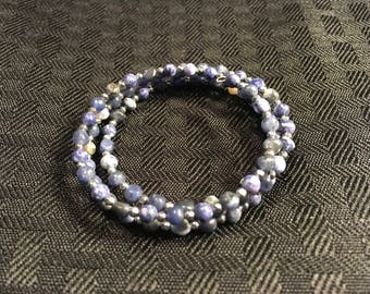 Dark blue lapis lazuli