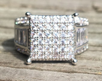 925 sterling Silver Ring Size 9 Order Size 6-10