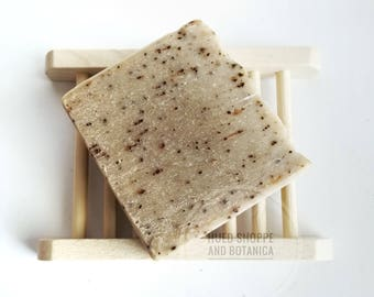 Minty Coffee Scrub Kitchen Soap- All Natural Cold Process Soap, Handmade Soap, Vegan Soap, Peppermint Coffee Soap, Handmade Coffee Soap