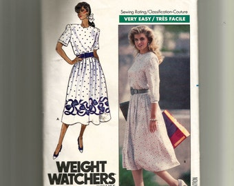 Butterick Misses' Dress Pattern 989