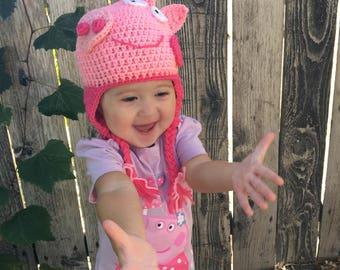 toddler peppa pig hat