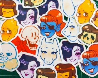 UNDERTALE STICKERS