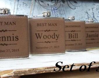5 Personalized Wedding Flask