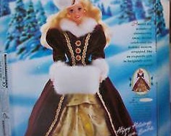 Barbie 1996 Happy Holiday Barbie Collectable Barbie NIB