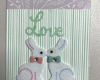 Bunny Love Easter Card
