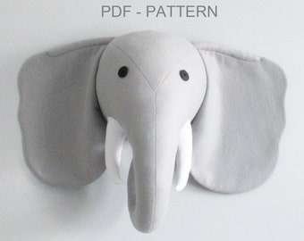 ELEPHANT PDF Pattern with Instructions
