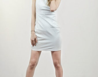 Coralie genuine leather dress