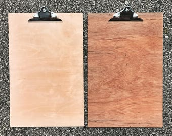 12x18 Wood Clipboard