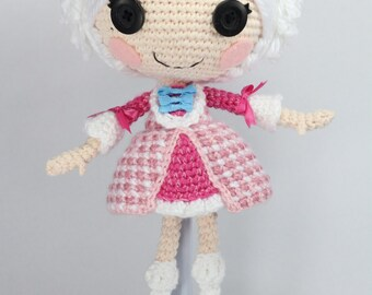 PATTERN: Suzette Crochet Amigurumi Doll