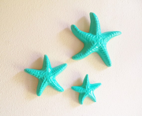 Starfish Wall Decor Nautical Decor Starfish Sculptures Sea