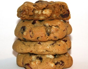 Walnut Cranberry Cookies