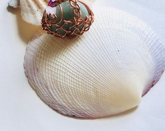 Handwrapped Pendant