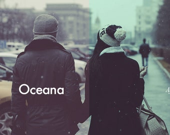 Oceana - Photoshop Action INSTANT DOWNLOAD