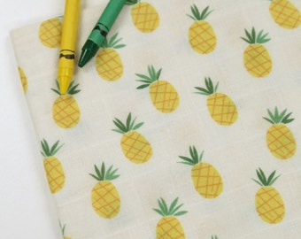 Double Gauze Fabric Pineapple By The Yard