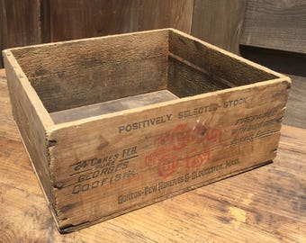 Primitive Wood Crate