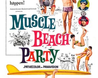 Bikini Beach Movie Musical Comedy Poster Print