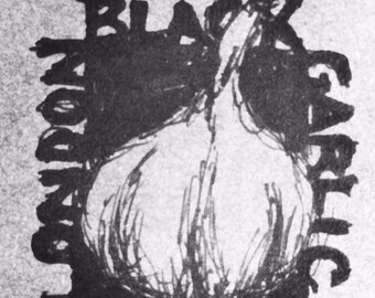 Fermented Black Garlic Organic