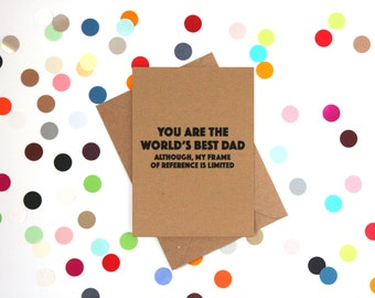 Funny Father's Day Card Fathers day card Fathers day cards Funny fathers day card Card for Dad Fathers Day Gift Dad Birthday Card
