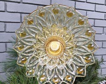 Repurposed Glass Flower/Suncatcher/Wall Decor/Garden Art