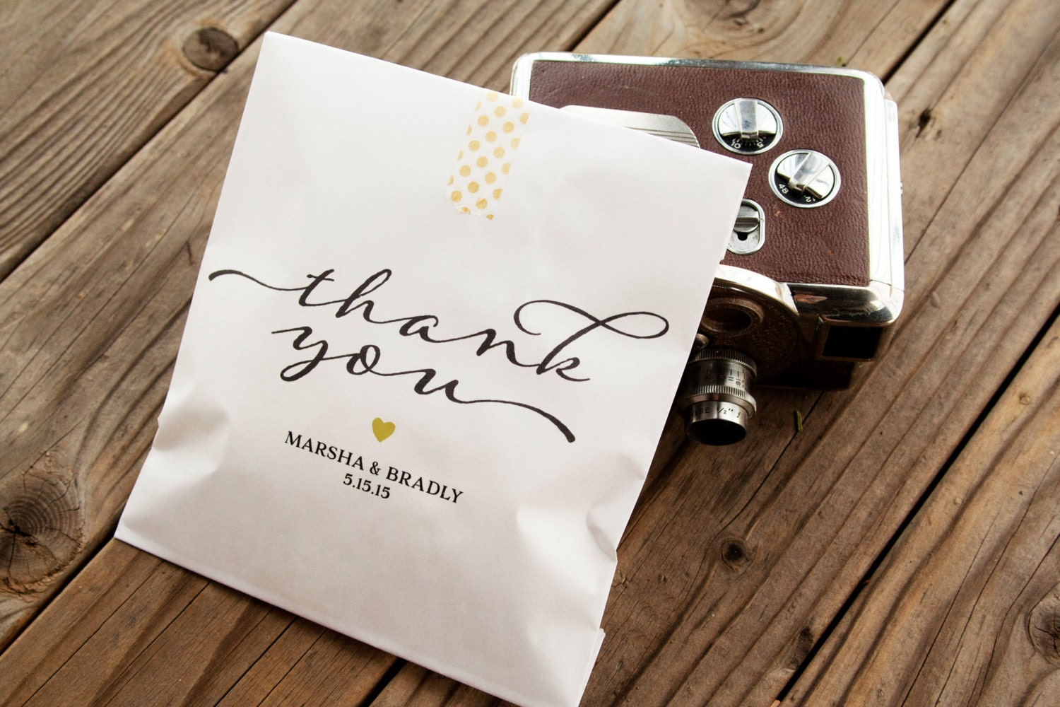 Wedding Favor Bags Personalized Cookie Bag