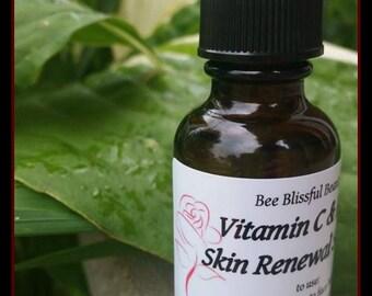 VITAMIN C SERUM,  Dermarolling, Anti Aging Serum, Youthful Skin Serum, Anti Aging Skin Care, Skin Care, Organic Skin Care, Natural Skin Care