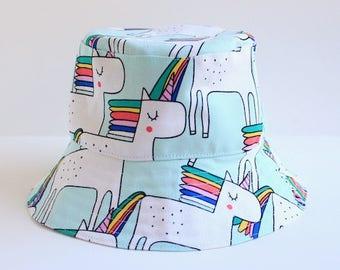 Kid's unicorn sun hat