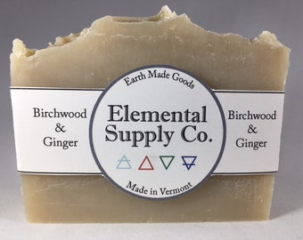 Birchwood and Ginger Soap