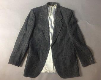 Vintage suit jacket / vintage mens jacket / vintage blazer / mens jacket / vintage sport coat / sport coat / tweed blazer / 8460