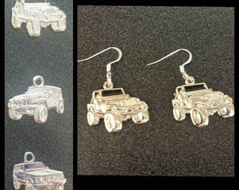Jeep Earrings - nickle free