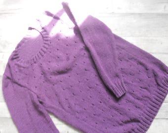 long women sweater size 42/44 quality annecy Bergère de france