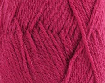 Snow Blossom Wool Yarn 2 x 100 gram Skeins Cranberry