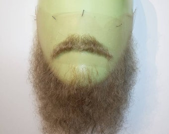 Facial postiche, beard and moustache set. LI46