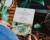 Custom Watercolor Save The Date: Classic and Whimsical