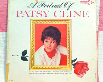 Portrait of Patsy Cline Album by Decca #DL 4508