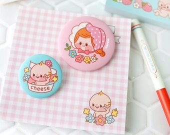 Cute Pin Button