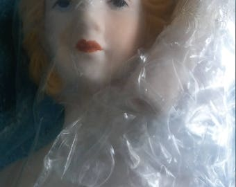 Porcelain lady head, hands & legs