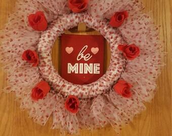 Be Mine - Valentine's Themed Wreath