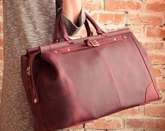 Women duffel bag, travel bag for women, women's travel bag, Duffel Bag, women weekend bag, Leather Valise, Carry-on luggage, Cabin Luggage