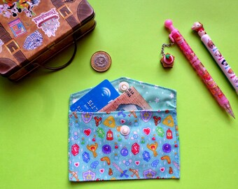 Cute Legend of Zelda Card Holder Mini Coin Purse Wallet Nintendo Link Anime