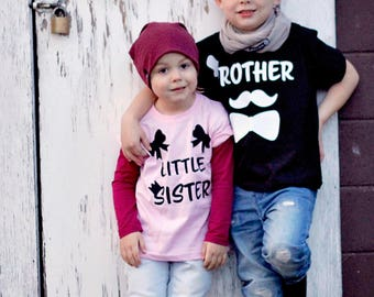 Little sister shirt, pregnancy announcement shirt, girl siblings shirt, new baby announcement, new sister shirt, baby girl shirt, baby gift