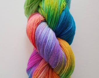 NANOU. the brush-dyed wool skein
