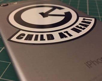 Child at Heart - Gloss Sticker