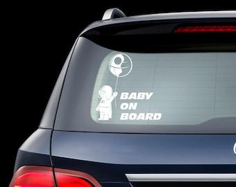 Baby On Board Star Wars Car Decal Darth Vader Star Wars Baby On Board Car Sign Star Wars Sticker